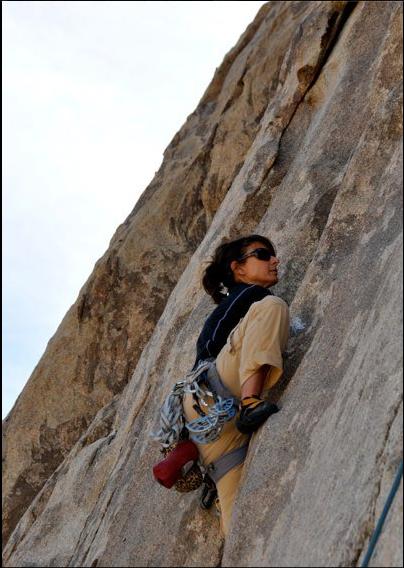 Teresa Climbing | Rock Climbing Women