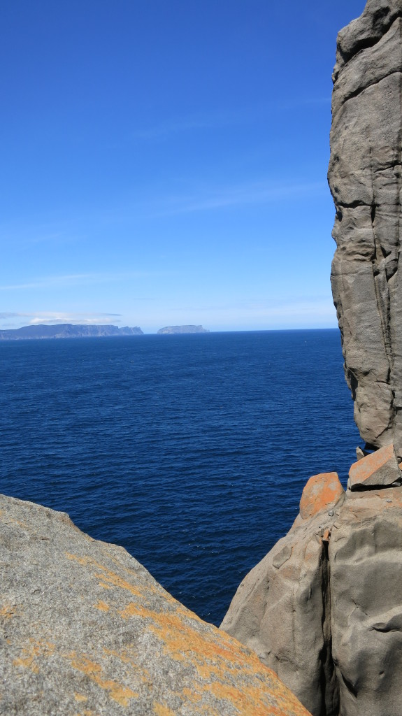 Cape Raoul Tasmania Rock Climbing Women