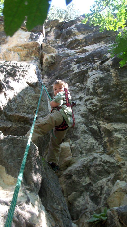 climbing-as-a-family | rock climbing | rock climbing women