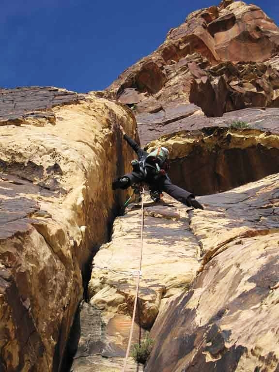 Red Rock Canyon Rock Climbing Las Vegas Jubilant Song
