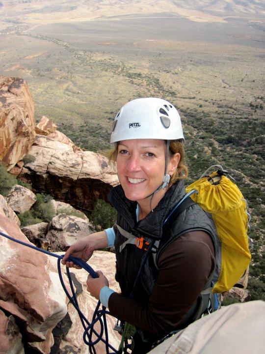 Rock Climbing Women Yoga Inspiration