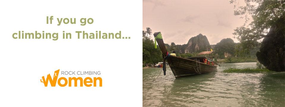 Climbing in Thailand