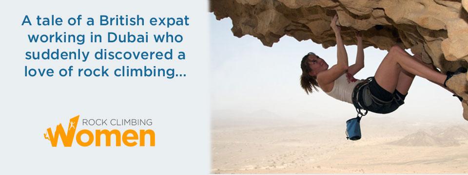 Dubai rock climbing women