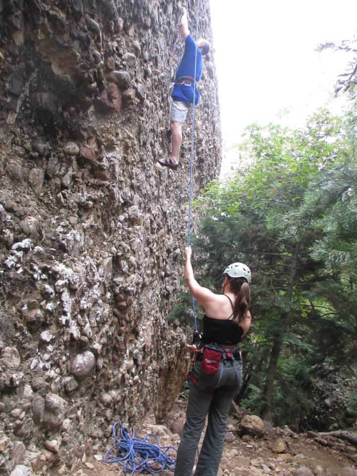 Rock Climbing Women - Rock Climbing in Utah