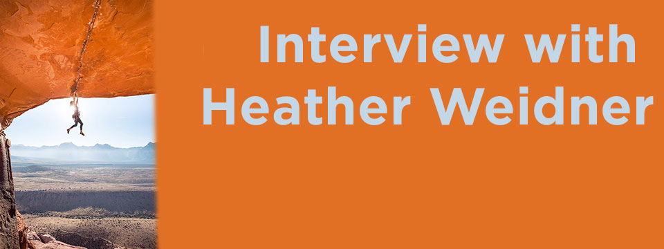 interview with heather weidner - women who climb rock climbing women