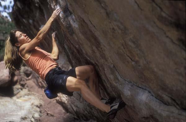Lynn Hill - Rock Climbing Women