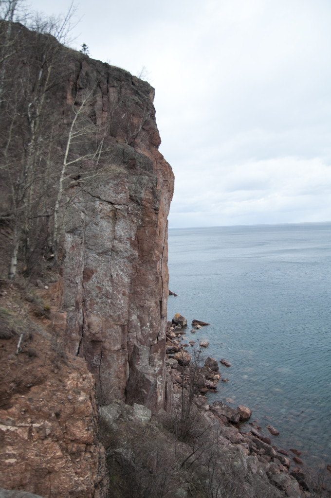 View of Laceration Jam at Palisade Head