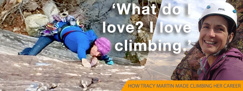 Tracy Martin on sustaining a 25-year climbing career
