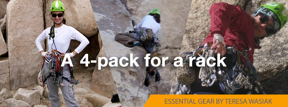 how to build a trad rack