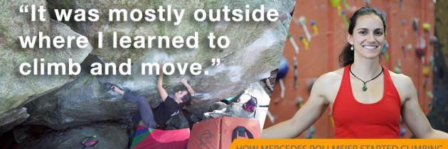 How this tennis player became a rock climber
