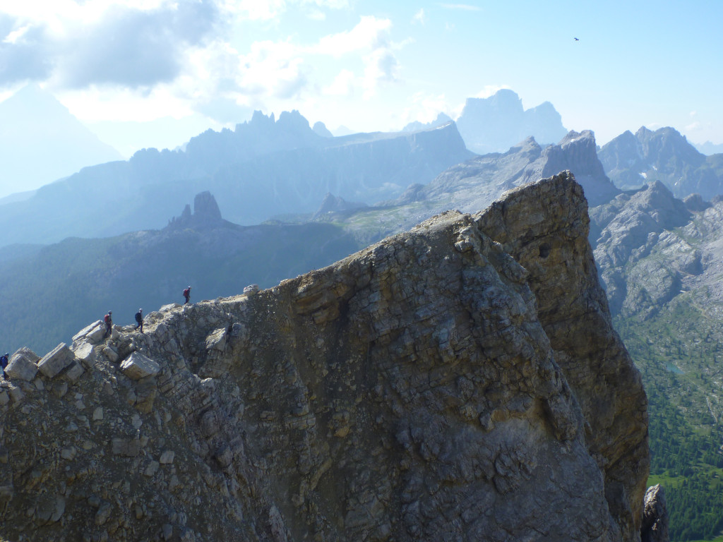 Via Ferrata di Lagazuoi