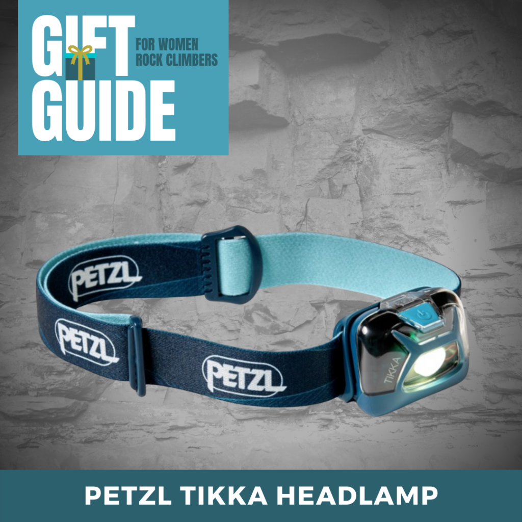 Headlamp Petzl Tikka for Rock Climbing Gift Ideas