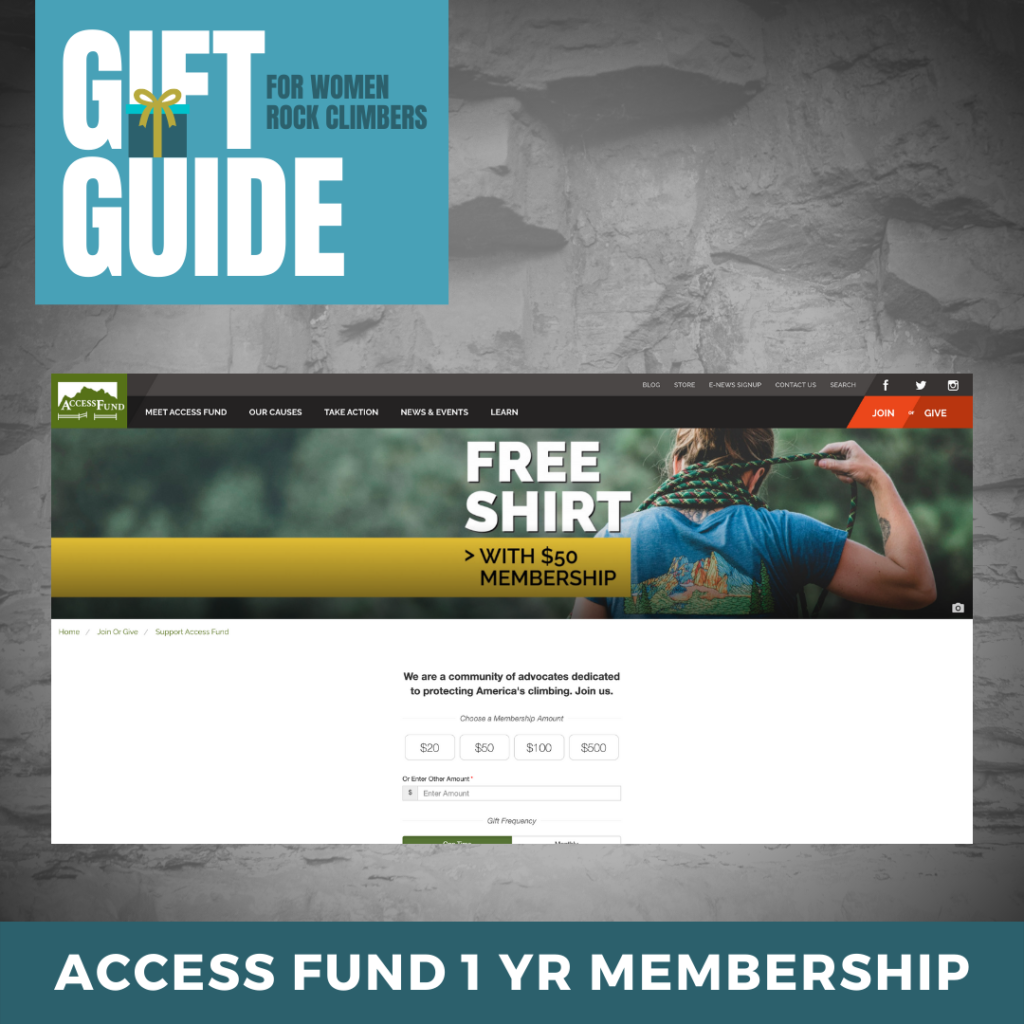 Access Fund Membership