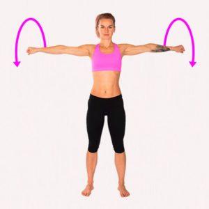 doing Arm Circles