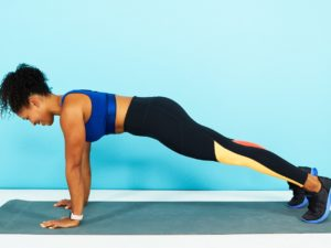 Push-ups or Planks on Your Fingers