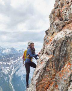 Alpine Climbing or Mountaineering